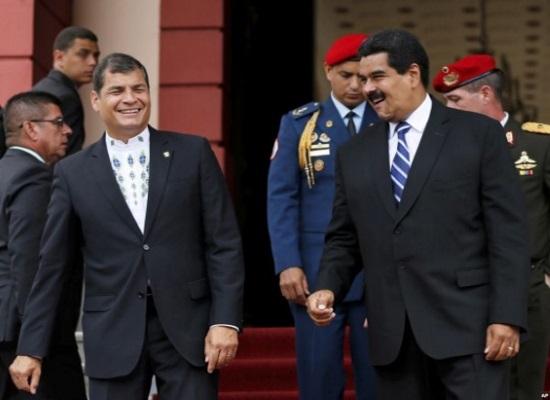 Nicolás-Maduro-y-Rafael-Correo-540x411