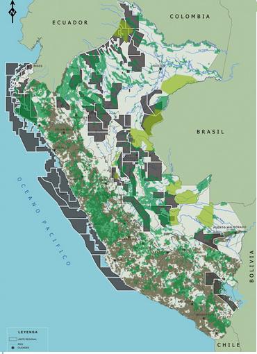 comunidades nativas y denuncios mineros