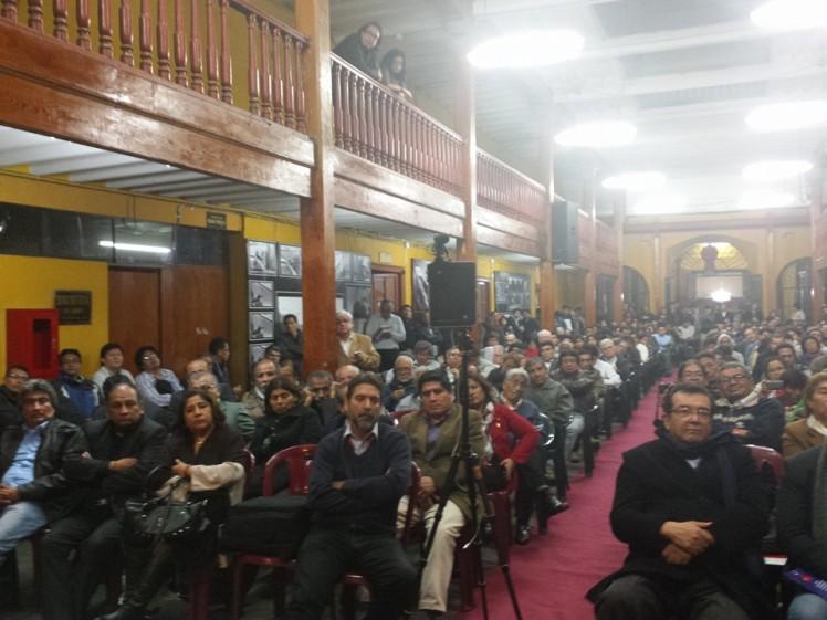 Atilio en Lima