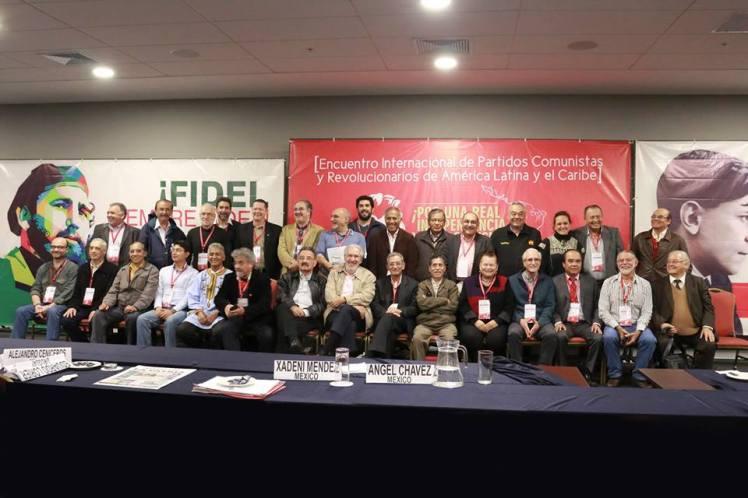 Foto del Encuentro internacional