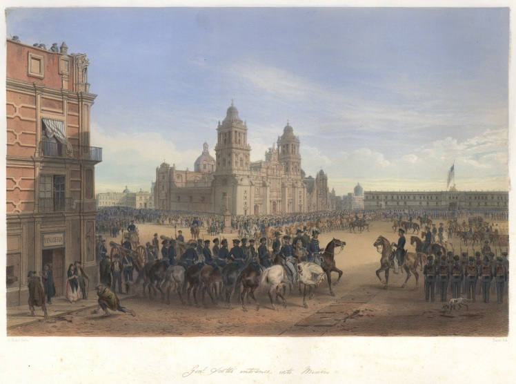 nebel_mexican_war_12_scott_in_mexico_city