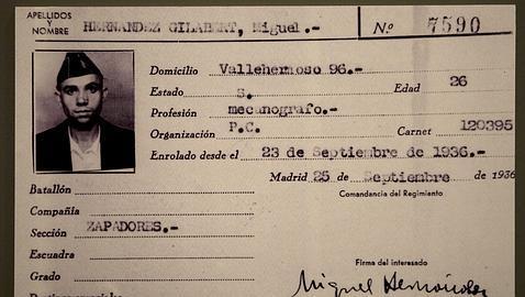 Carnet Miguel Hernadez