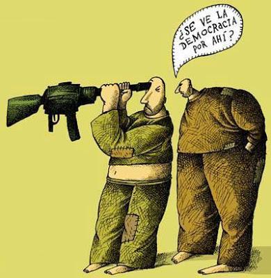 La Democracia De Las Pistolas y Los Fusiles