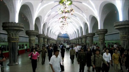 metro en pyongyang
