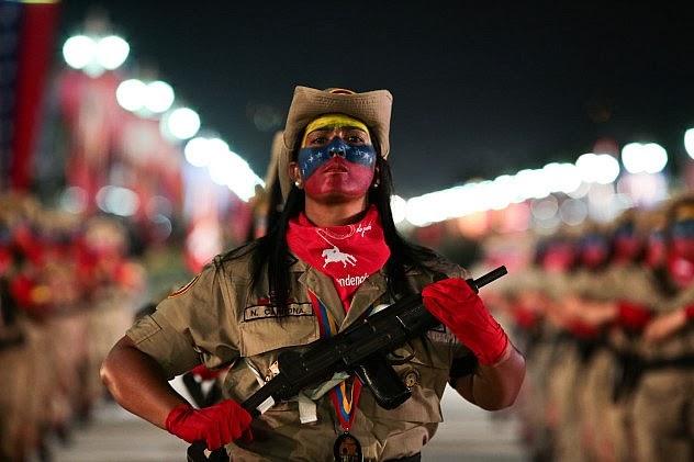 miliciana venezuela
