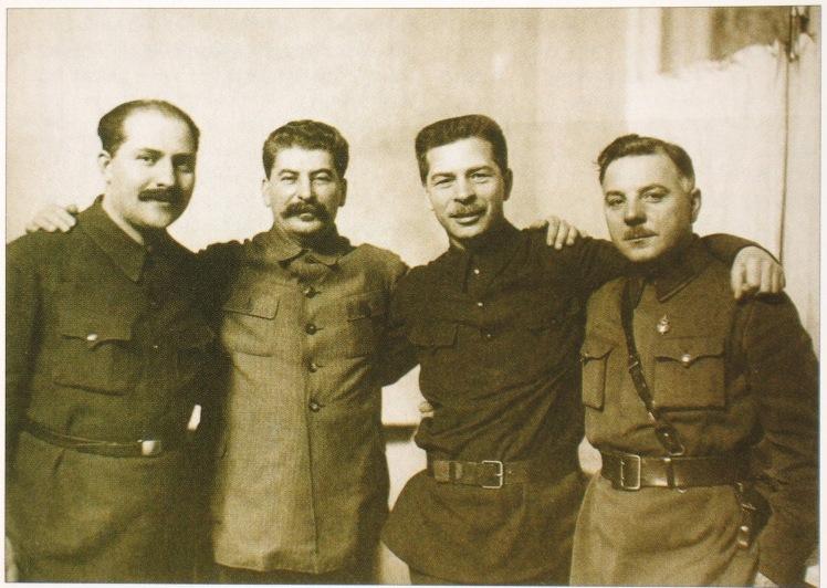 kaganovich_stalin_postyshev_voroshilov1934