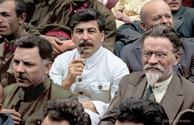 Stalin, Kalinin, Voroshilov 1930 | Сталин, Калинин,