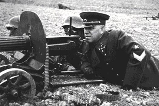zhukov en el frente