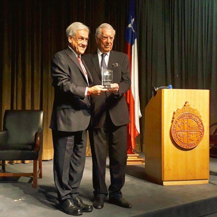 Piñera y Mario vargas