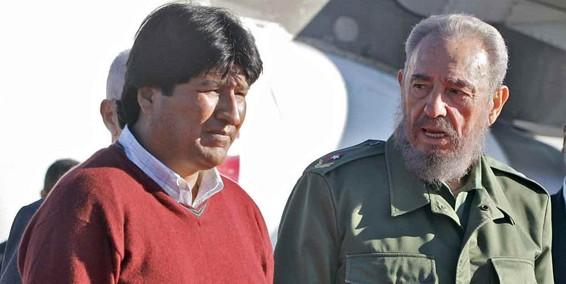 Evo y Castro
