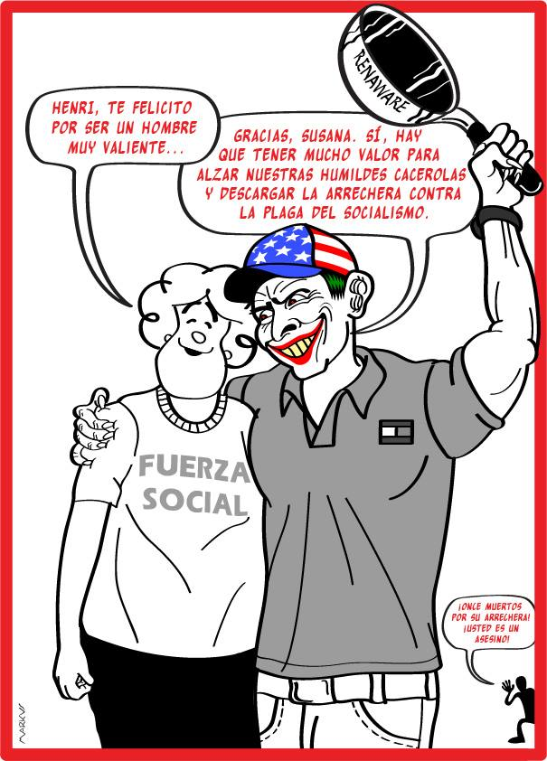 Fuerza social y capriles