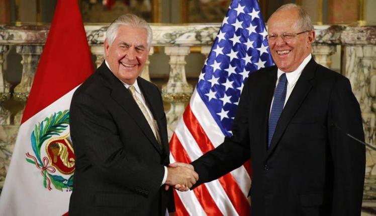 Secretario de Estado y PPK