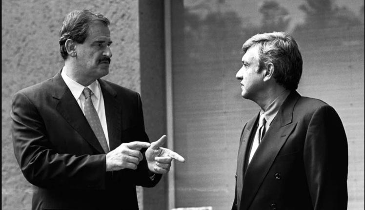 Fox y Lopez Obrador