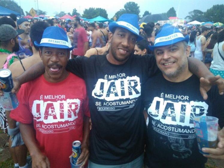 Afrodescendientes de origen popular a favor de Bolsonaro